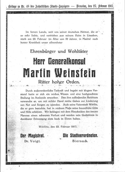 12 Nachruf 1917